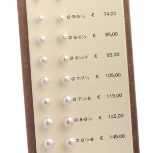 Perle coltivate Zogno Gioielli espositore