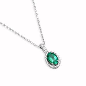 girocollo smeraldo Collane Fantasia